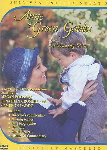 ANNE OF GREEN GABLES:CONTINUING STORY BY FOLLOWS,MEGAN (DVD)